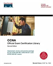 CCNA Official Exam Certification Library (Exam #640-801), 2nd edition by Wendell Odom (2006-05-17)
