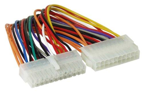 InLine 26637 Stromadapter intern, 20pol ATX Netzteil zu 24pol EPS12V Mainboard, 0,16m