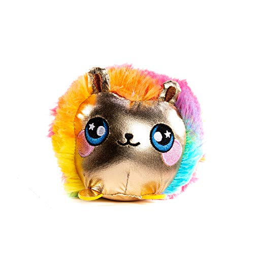 "Squeezamals Pets 3.5"" - Punky Hedgehog - Super-Squishy Foam Stuffed Animal! Squishy, Squeezable, Cute, Soft, Adorable!"