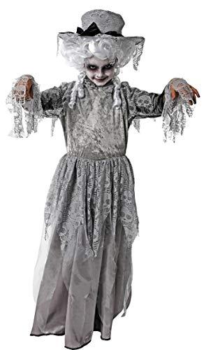 Gojoy shop- Disfraz de Zombi Victoriana para Niñas (Contiene Sombrero y Vestido, 4 Tallas Diferentes) (3-4 años)