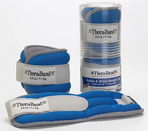 TheraBand Weights Adjustable Strengthening Physical