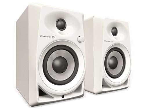 Pioneer DM-40-W Blanco altavoz - Altavoces (De 2 vías, 2.0 canales, Alámbrico,...