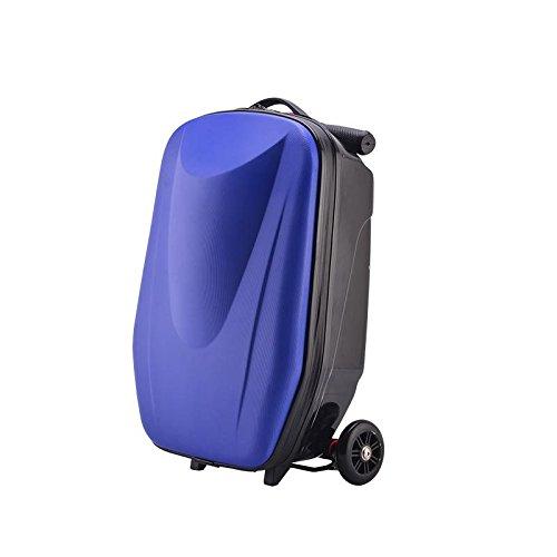 Hermoso y Conveniente Nueva Caja de aleación de aleación de Aluminio Estudiante Scooter Caja de Equipaje 20 Pulgadas Maleta PC Maleta Daily Nitsities Bag Fácil de Caminar