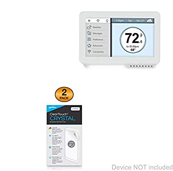 Vine TJ-919 WiFi Thermostat Screen Protector BoxWave [ClearTouch Crystal  2-Pack ] HD Film Skin - Shields from Scratches for Vine TJ-919 WiFi Thermostat