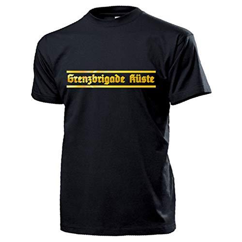 Grenzbrigade Küste GBK Abzeichen Mützenband GBrK Grenztruppen DDR T Shirt #17476, Größe:XL, Farbe:Schwarz