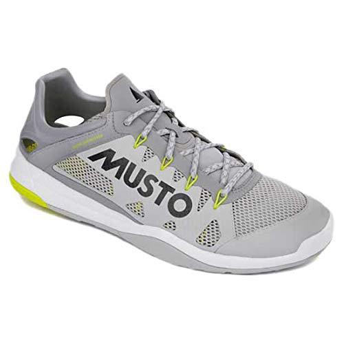 Musto Chaussures de Voile et dériveur Dynamic Pro II - Platine - Vos Chaussures doivent Suivre Le Rythme