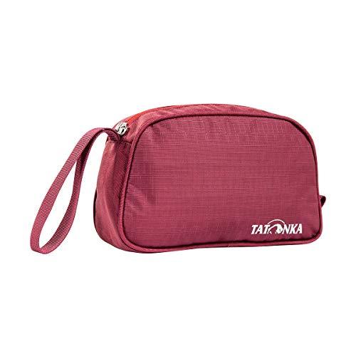 Tatonka Unisex - Adult One Day Wash Bag, Bordeaux Red, 23 x 13 x 8 cm