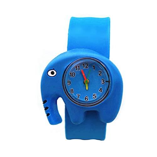 Ydh Relojes de Dibujos Animados de los niños Linda Mariposa/Abeja/Elefante/Frog Reloj de Pulsera para niños Indique al Cuarzo Reloj de Pulsera electrónica Chicas Boys Boy Cumpleaños Relojes de