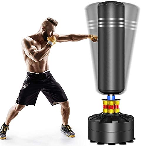 YOLEO YOLEO StandboxsäckeTrainingsgeräte Erwachsene Freistehender Boxing Bild