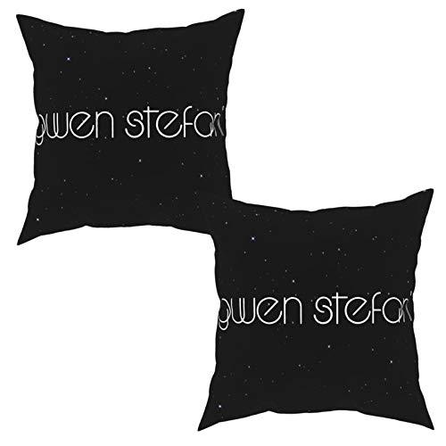 Woesking Gwen Stefani Pillowcase Sofa Pillowcase Four Seasons Universal Pillow 2PC