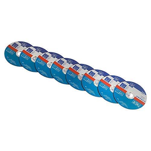 LUX-TOOLS Trennscheiben-Set Ø 125mm, 8-teilig | Trennscheiben-Satz inkl. 8 Spezialtrennscheiben mit einem Durchmesser von 125mm zum Schneiden von Metall