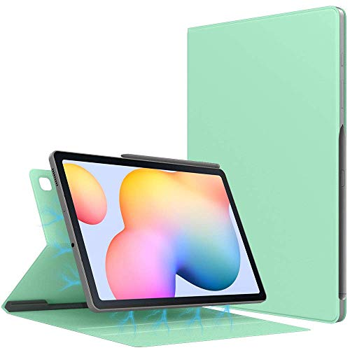 Case for All-New Galaxy Tab S6 Lite 10.4 Inch 2020 (SM-P610/P615), Ultra Slim Lightweight Magnetic Stand Cover with Auto Sleep/Wake Fit Galaxy Tab S6 Lite 10.4 2020 Tablet, Light Green
