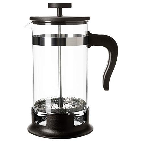 Home Ikea Upphetta Kaffee-/Teebereiter, Glas, Edelstahl, 100 ml