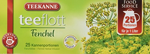 Teekanne Teeflott Fencheltee (Teebeutel), 4er Pack (4x 150 g)
