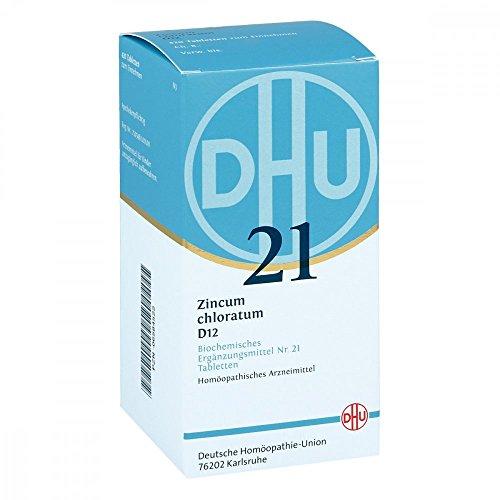 DHU Schüßler-Salz Nr. 21 Zincum chloratum D12 Tabletten, 420 St. Tabletten