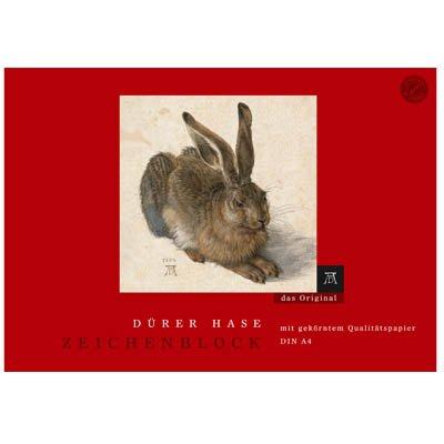 formatwerk Zeichenblock Dürer Hase A4 100 g/qm 18 Blatt 1 Stück