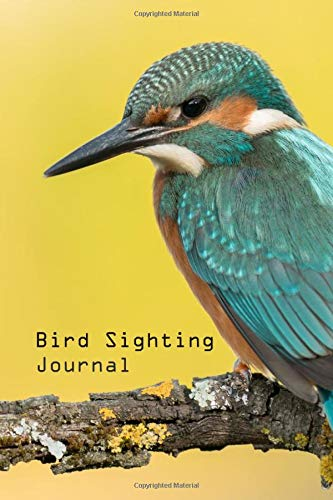 """Bird Sighting Journal: Bird Watching Log, Notebook and Journal for Bird Lovers, 6x9"""" Pocket Size, 50 Journals. Beautiful Cover Design and Easy to Use for Detail Inside."""