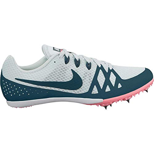 Nike Zoom Rival MD Mid Distance Track Spikes Shoes Womens Size 7.5 (Grey, Anthracite, Pink)