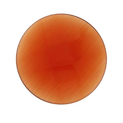 MY iMenso Katzenauge Insignie Perlmutt rot facettiert 33 mm 33-0921