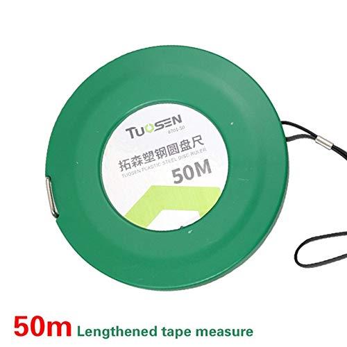 Cinta métrica de 50 m, medidor de medición retráctil de 30 m, Ruban, Herramientas Profesionales de carpintería de medición de 20 m, medición miaria meetlint - Cinta métrica de 50 m