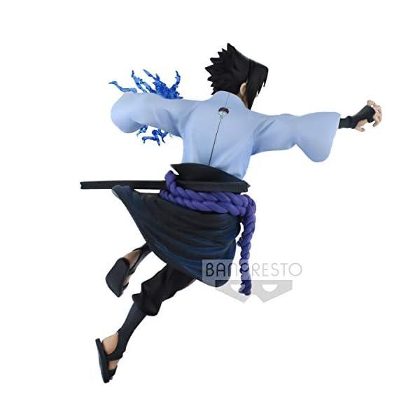 Naruto Shippuden - Figura de colección Uchiha Sasuke (Bandai 85456) 4