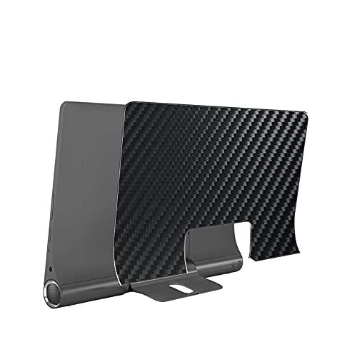 VacFun 2 Piezas Protector de pantalla Posterior, compatible con Lenovo Yoga Smart Tab 10.1', Película de Trasera de Fibra de carbono negra Skin Piel