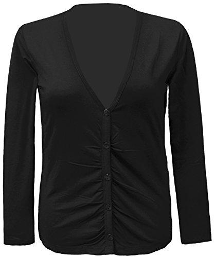 STEILMANN - Damen Shirt Jacke, schwarz