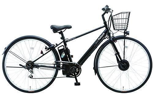 【完成車納品】PELTECH(ペルテック) TDA-207Z 電動アシストクロスバイク 27インチ 外装6段 (マットグリーン)