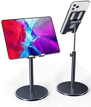 Fitfort Adjustable Aluminum Alloy Tablet/Phone Holder Stand