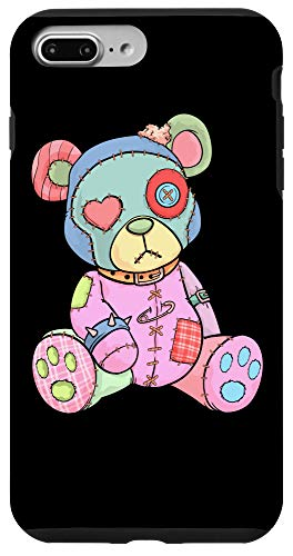 iPhone 7 Plus/8 Plus Pastel Goth Teddy Bear Japanese Anime Kawaii Menhera Case