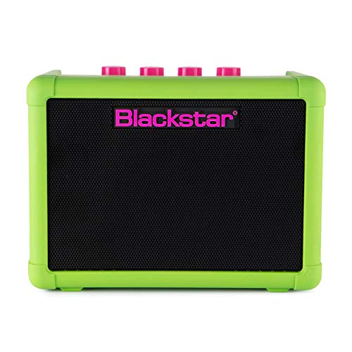 Blackstar FLY3 Neon Green Compact Portable Battery Powered Guitar Amplifier - Limited...