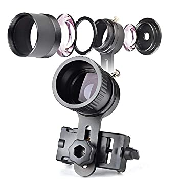 Landove Rifle Scope Smartphone Mounting System- Smart Shoot Scope Mount Adapter for Gun Scope Airgun Scope Display with Advanced Glass Magnification System Adapter Record Hunt via The Phone