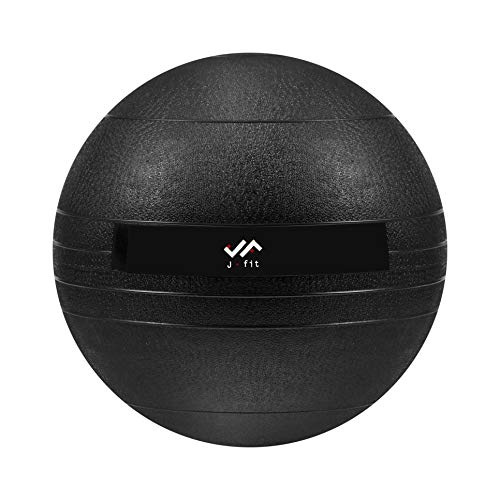 j/fit Dead Weight Slam Ball for Strength & Conditioning WODs, Plyometric and Core Training, and Cardio Workouts - 15 lb