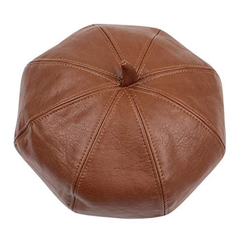 Huacat Wintermütze Damen Zeitungsjunge Hut Reitmütze Warme Mütze Stricken gefütterte Feinstrick Beanie Mütze mit und Sehr Weichem Innenfutter Wintermütze
