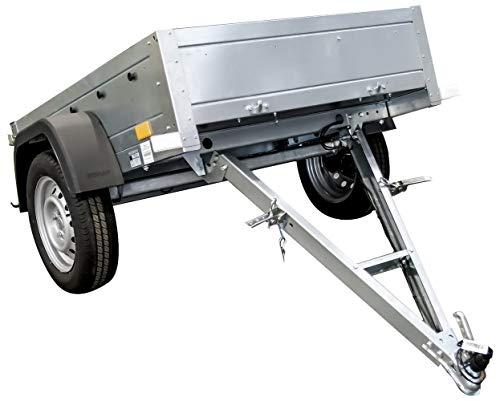 UNITRAILER Remorque Auto Pliable Garden Trailer 150 Kipp 150 x 106 cm PTAC sur Demande 500 kg