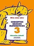Conceptos básicos matemáticos 3. - 9788466744973