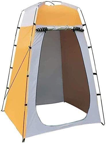 CHHD Privacy Tent for Portable Toilet Outdoor Portable Dressing Tent, Swimming and Changing Room Mobile Toilet Tent Mobile Beach Trip Easy Set Up