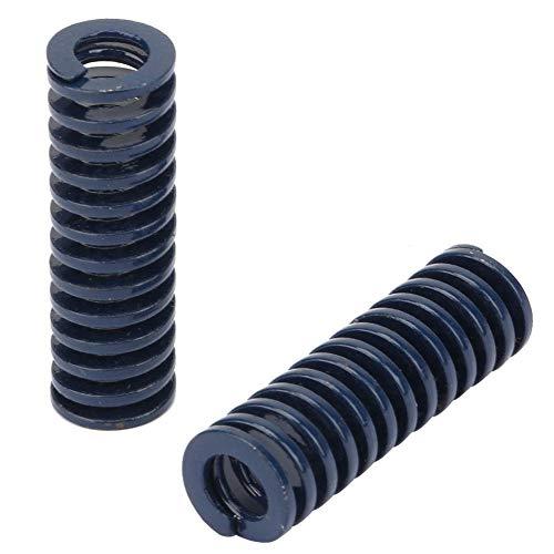 2pcs stampo a compressione stampo a molla OD 10mm ID 5mm molle a compressione meccanica alta precisione acciaio blu carico leggero stampo a molla(TL10*50mm)