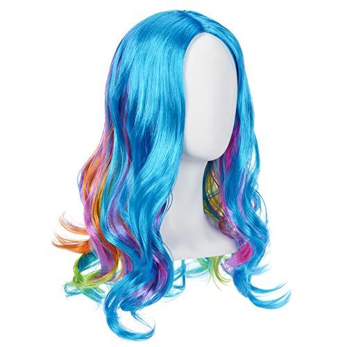 "Rainbow High Rainbow Wig – 18"""" Role Play Wig for Girls (572534EUC)"