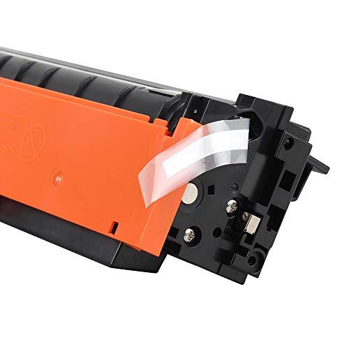 True Image Compatible Toner Cartridge Replacement for HP 410A CF410A CF410X 410X 410 Laserjet Pro MFP M477fdw M477fdn M477fnw M452nw M452dw M452dn M477 M452 (Black, 1-Pack) Photo #4