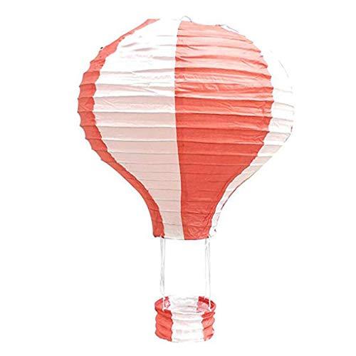 kexinda 12 Zoll 30cm Hängende Heißluft-Ballon-Papierlaternen, Geburtstag, Hochzeit Weihnachtsfest-Dekoration