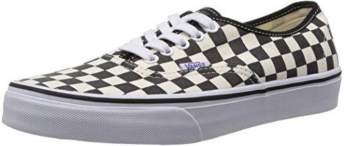 Vans U Authentic, Unisex-Erwachsene Sneaker, Schwarz (Noir (Black/White Checker)), 43 EU