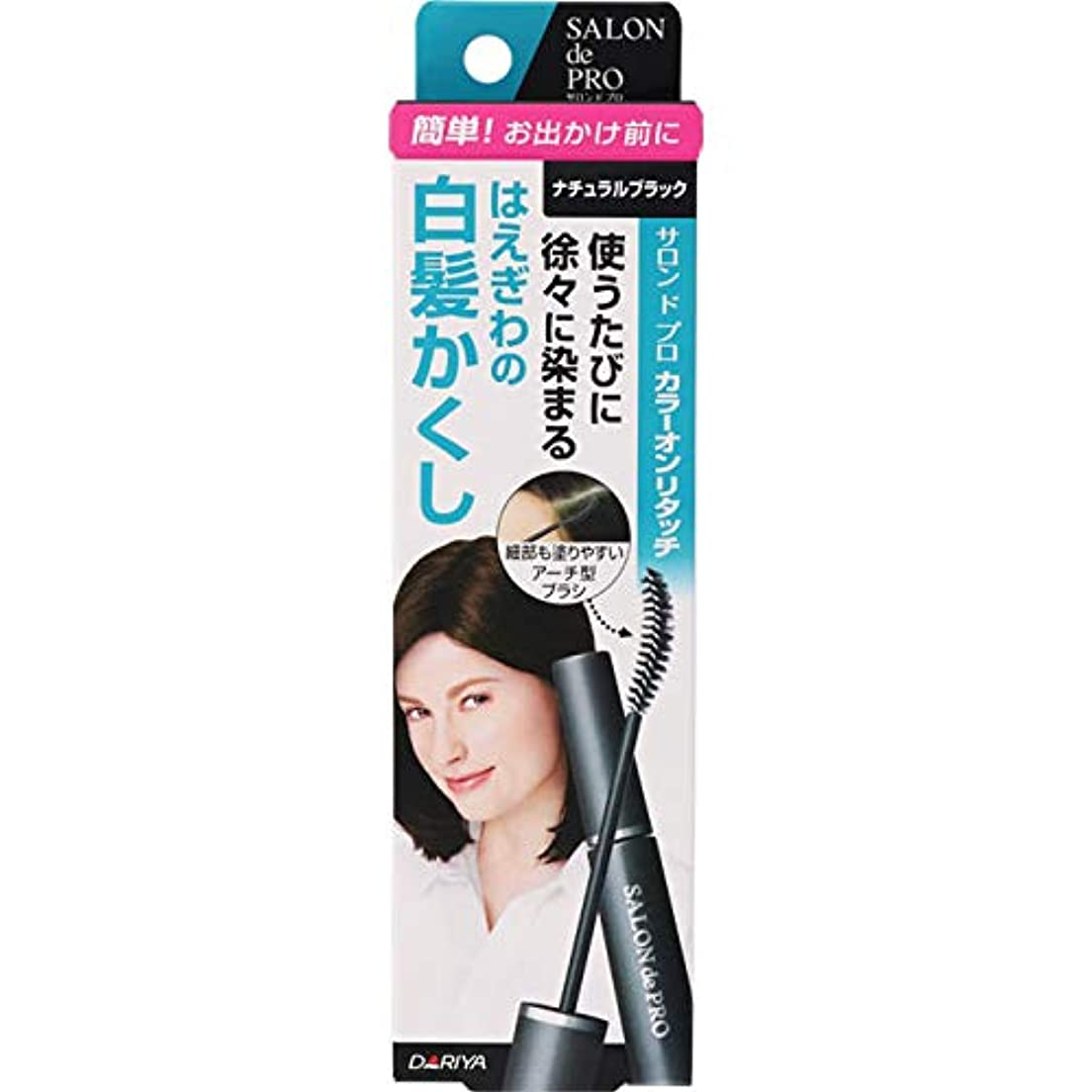チャーミング反響する飼料サロンドプロ カラーオンリタッチ 白髪かくしEX ナチュラルブラック