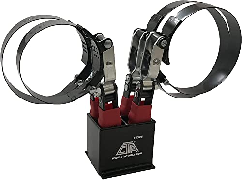 CTA Tools 4325T 4 Pc. Oil Filter Wrench Set with Stand