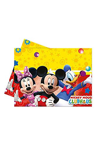 Disney Micky Mouse Clubhouse Party tafelkleed plastic 120x180cm
