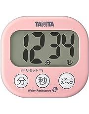 TANITA 廚房 計時器 帶磁鐵 大屏幕 100 分鐘即可顯示計時器