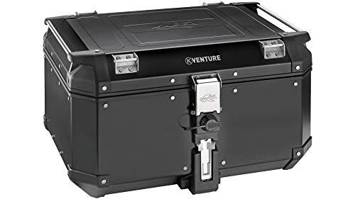 Maleta Top Case KVE58B K-Venture de Aluminio, 58 l,Color: Negro.