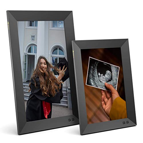 Nixplay Smart Digital Picture Frame Bundle - 10 inch and 13 inch