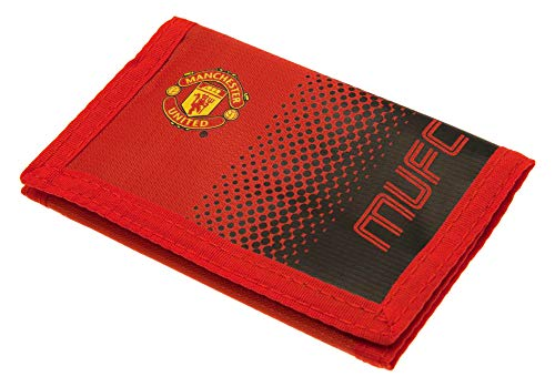 Manchester United FC 2428Wallet Unisex-Kinder, Rot