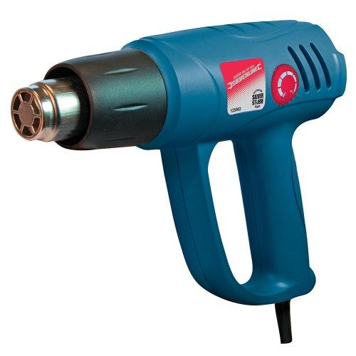 Silverline 125963 - Pistola decapadora por aire caliente Silverstorm 2000 W (600º C)